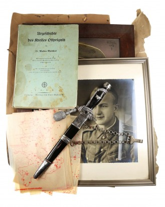 © DGDE GmbH - Postal Protection Leader's Dagger [1939] by Paul Weyersberg Solingen