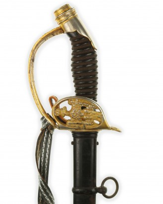 © DGDE GmbH - Шпага прусская пехотная офицерская обр. 1889 года - Пак Эрнст Золинген
