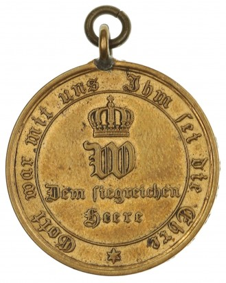 © DGDE GmbH - Prussian War Merit Medal 1870-1871 for Combatants