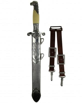 © DGDE GmbH - RAD Leader´s Dagger with hanger [M1937] by Carl Eickhorn Solingen