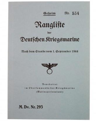 &copy DGDE GmbH - Rangliste der Deutschen Kriegsmarine 1944