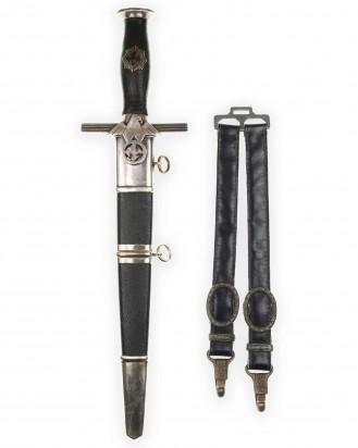 © DGDE GmbH - RLB Leader Dagger [M1938] 2nd Model with Damascus Blade - Eickhorn Solingen