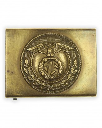 © DGDE GmbH - SA [Sturmabteilungen] Enlisted Man's Belt Buckle with Sunwheel Swastika