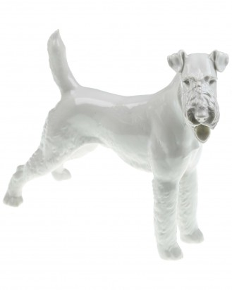 © DGDE GmbH - Standing Fox Terrier (Allach Model No 19) by T.Kärner