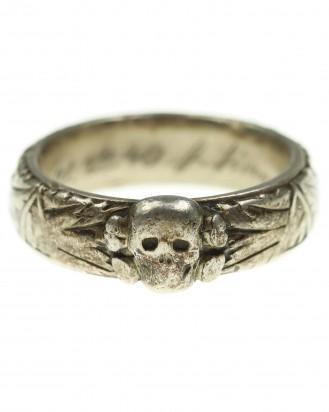 © DGDE GmbH - Death's Head Ring of SS Untersturmführer J.Detter