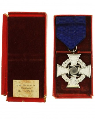 © DGDE GmbH - Faithful Service Medal 25 by Paul Meybauer Ordenfabrik Berlin SW 68