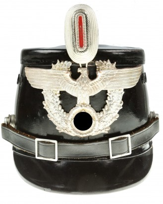 &copy DGDE GmbH - Berlin Police Enlisted Man's Shako