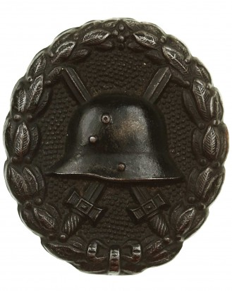 &copy DGDE GmbH - Verwundetenabzeichen für die Armee 1918 (schwarz, eisen)