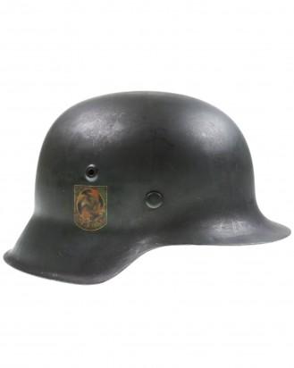 """&copy DGDE GmbH - Wehrmacht Stahlhelm M42 Freikorps """"Sauerland"""""""