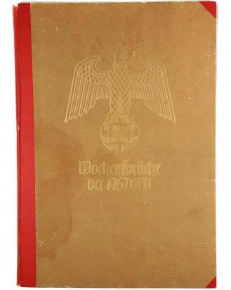 © DGDE GmbH - 48 x Wochensprüche der NSDAP in Sammelmappe