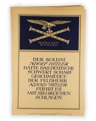© DGDE GmbH - 272 x Weekly slogans of the NSDAP (Wochensprüche der NSDAP)
