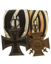 Группа из 2-х наград на колодке, Пруссия