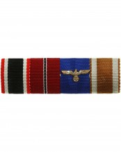 German 4 Place Ribbon Bar