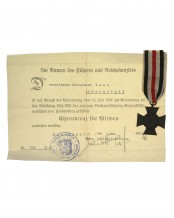 German Cross of Honor 1914/18 - Wilhelmine Lanz