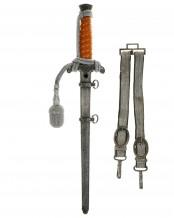 Army Officer's Dagger with Hangers - Weyersberg Kirschbaum & Cie. (WKC), Solingen