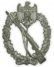 German Silver Grade Infantry Assault Badge