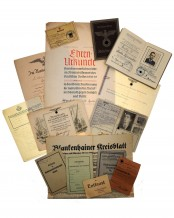 Certificates and documents from the family «Och»