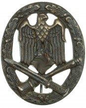 General Assault Badge by Pleuger & Voss Lüdenscheid