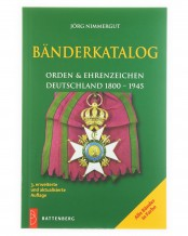 Tapes Catalog Orders and decorations Germany 1800 - 1945