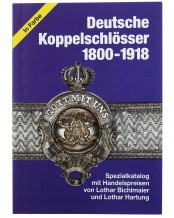 German Belt Buckles 1800-1918 - Special Catalogue with values