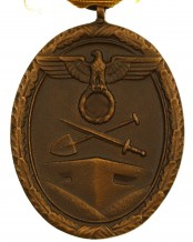 German West Wall Medal with ribbon