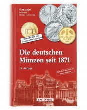 German coins since 1871, valuations with current market prices, 26th edition 2020/21