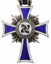 Крест немецкой матери 2-я модель в серебре, Германия