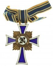 German mother cross in bronze - 2nd Model
