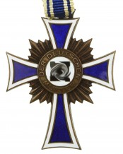 Крест немецкой матери 2-я модель в бронзе