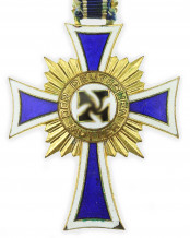 German mother cross in gold