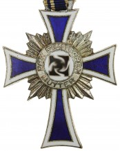 German mother cross in silver, Germany - 2nd Model, 2nd Stage