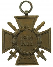 German Cross of Honor with swords 1914-1918 by PM