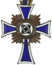 German mother cross in bronze, Germany - 2nd Model, 3 Stage
