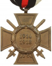 German Cross of Honor with swords 1914-1918 by L. NBG.