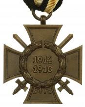 Почётный крест Гинденбурга с мечами 1914-1918 - B&N (Berg & Nolte)