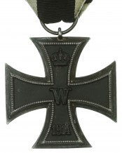 Imperial 2nd Class Iron Cross by K (Kluge)