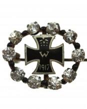 Железный крест 1917 брошь