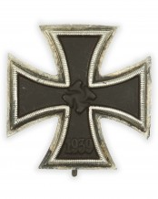 German 1939 Iron Cross First Class (arched)