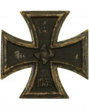 German 1939 Iron Cross First Class by 20 Zimmermann