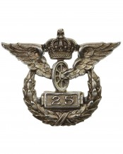 Prussian Railroad 25 Years Service Badge by Wagner