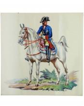 Fliese Friedrich der Große (Allach) - Theodor Kärner