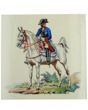 Fliese Friedrich der Große (Allach) - Theo. Kärner