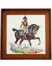 Керамическая плитка – Seydlitz Кирасирский офицер (Аллах) - Т. Кернер