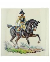 Tile Seydlitz Kürassier Officer (Allach) by Thoe. Kärner