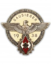 Victors Badge in the National Trade Competition by G. Brehmer Markneukirchen