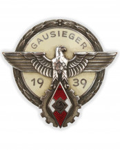 Victors Badge in the National Trade Competition 1939 by G. Brehmer Markneukirchen