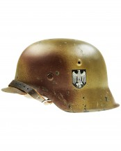 German Army Heer M42 Single Decal Helmet