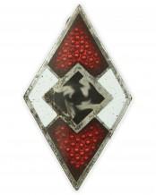 Членский знак Гитлерюгенд - RZM M1/143 (Gebrüder Jäger Gablonz)