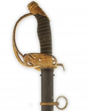 Imperial German Prussian Officer's Sword Degen 1889 (Württemberg) by WKC Solingen
