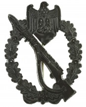 Infanterie Sturmabzeichen in Silber (Hohlprägung)